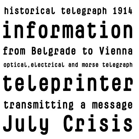 Sample für Telegramo B Bold