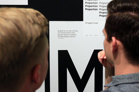 Opening Call for Type exibition, Mainz