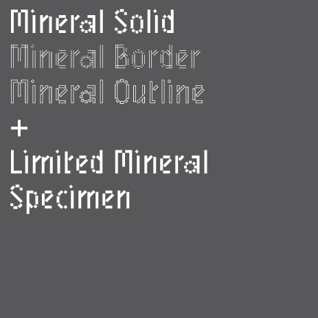 Mineral Family by Benoit Bodhuin